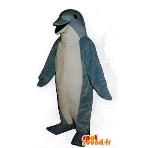 イルカのコスチューム-イルカのコスチューム-MASFR005073-イルカのマスコット