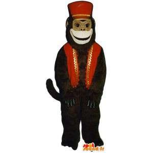 Małpa garnitur pana młodego - oczyszczenie kostium małpa