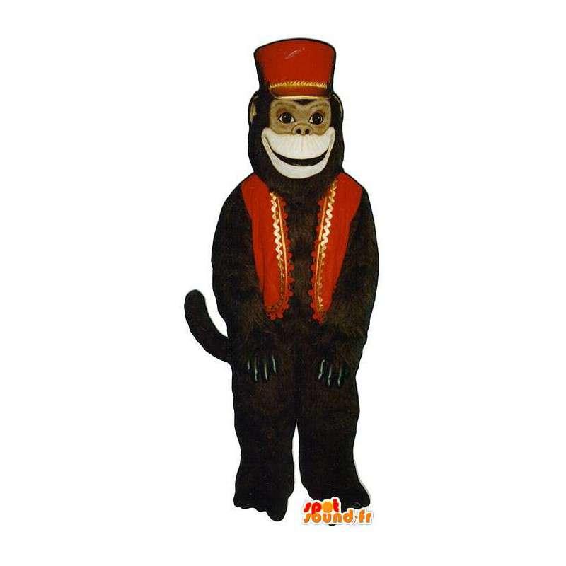 Costume singe groom - Déguisement de singe groom - MASFR005080 - Mascottes Singe