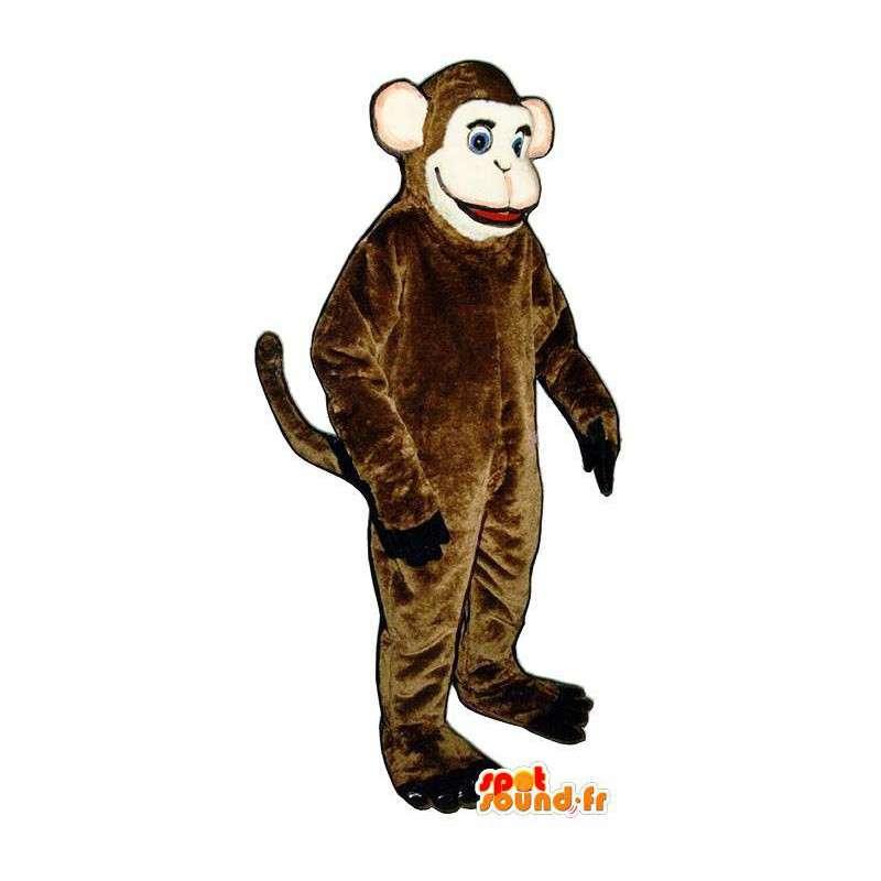 Costume of a monkey brown - brown monkey mascot - MASFR005090 - Mascots monkey