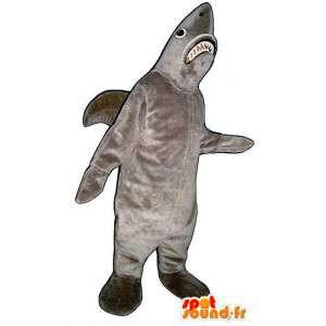 Representando un traje de tiburón - Personalizable vestuario - MASFR005084 - Tiburón de mascotas