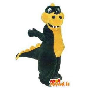 Caráter da mascote do crocodilo - disfarce