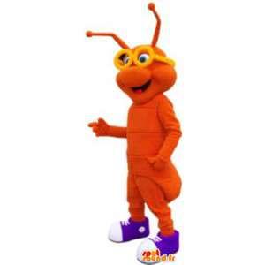 Lagarta mascote - disfarce - MASFR005117 - mascotes Insect