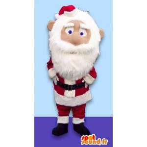 Aikuinen puku Joulupukki maskotti
