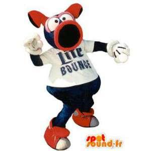 Mascot freche Lite Bounge - Verkleidung - MASFR005134 - Maskottchen Schwein