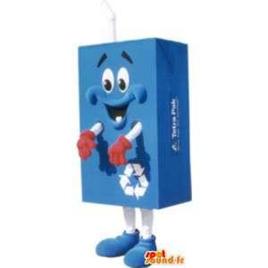 Déguisement mascotte tétra pack pour adulte - MASFR005138 - Mascottes d'objets