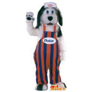 Dulux hund maskot kostyme voksen - MASFR005143 - Dog Maskoter
