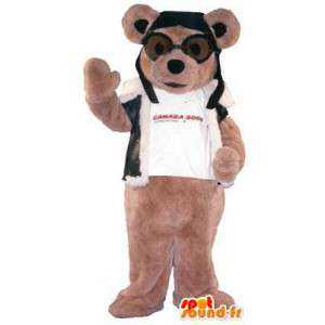 Mascotte chien aviateur canada jobs - MASFR005144 - Mascottes de chien
