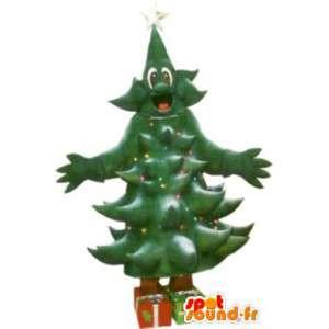 Weihnachtsbaum-Kostüm versandkostenfrei - MASFR005149 - Weihnachten-Maskottchen