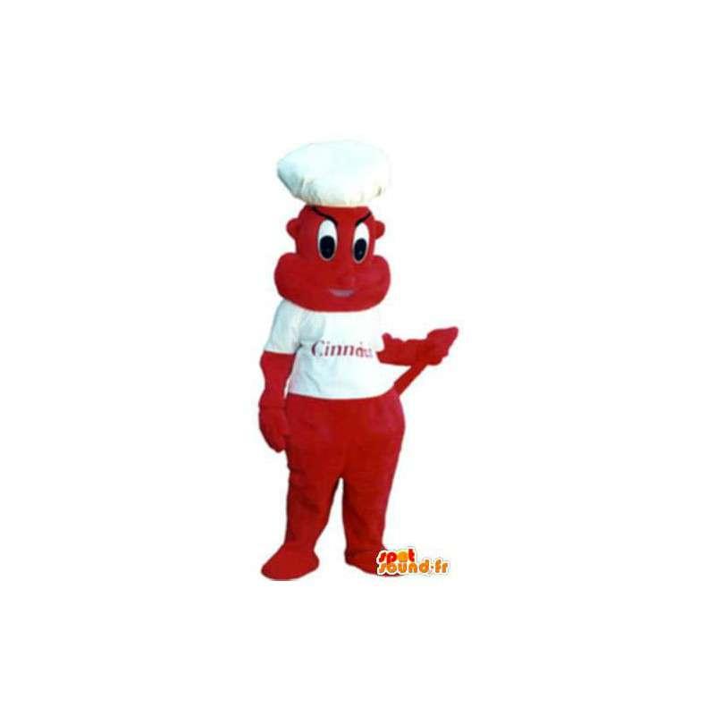 Imp mascot costume adult cook - MASFR005157 - Monsters mascots