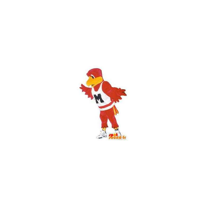 Puku aikuinen lintu hienoilla urheilu lenkkarit - MASFR005161 - maskotti lintuja