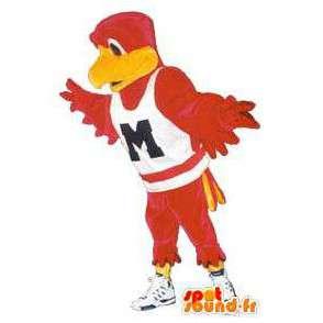 Costume volwassen vogel met mooie sport sneakers - MASFR005161 - Mascot vogels