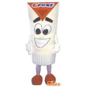 Erwachsenen-Kostüm Kamm Zahnpasta Mann - MASFR005167 - Menschliche Maskottchen
