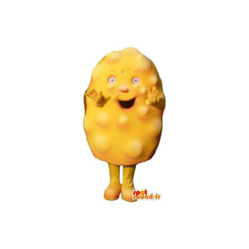Adult mascot costume suit omelette - MASFR005170 - Fast food mascots