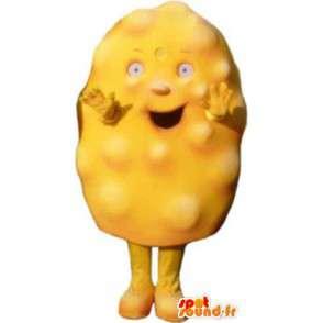 Déguisement pour adulte mascotte omelette costume - MASFR005170 - Mascottes Fast-Food