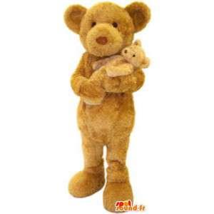 Zamaskovat s dítětem medvídě dospělé kostým - MASFR005188 - Bear Mascot