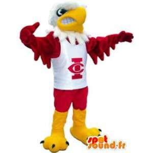 Eagle maskot sports jersey forklædning til voksen - Spotsound