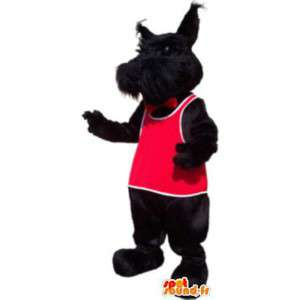 Svart tax hund maskot sport förklädnad för vuxen - Spotsound