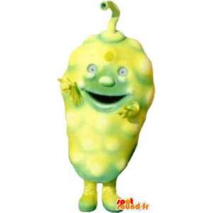 Fruta de la piña mascota traje de fantasía adulta