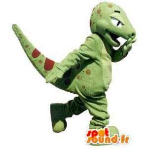 Dinosaurio carácter de la mascota adultos traje