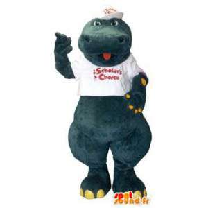 Tegn krokodille Mascot Costume Scholtar valg