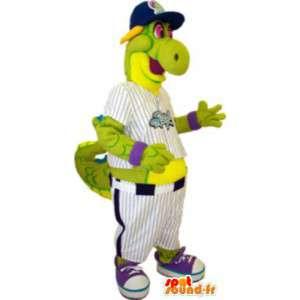 Vuxen baseball sport drak maskot kostym - Spotsound maskot