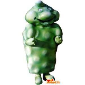 Mascot costume adult green man flange - MASFR005239 - Human mascots