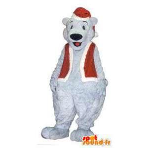 Aikuinen maskotti puku joulupukki jääkarhu - MASFR005254 - Bear Mascot
