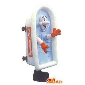 Volwassen mascotte kostuum Canadese merk Loodgieters Mart - MASFR005261 - mascottes objecten