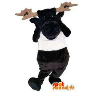 Aikuinen maskotti puku merkki tee vauhtia - MASFR005262 - Stag ja Doe Mascots