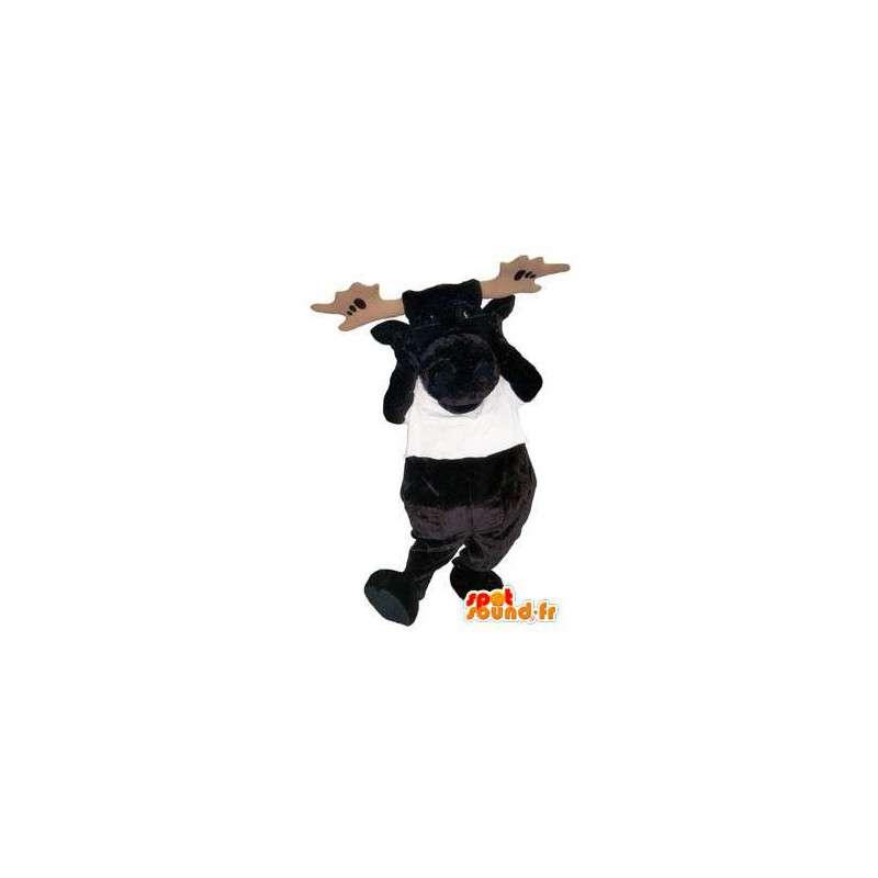 mascotte costume adulto  Acquista Personaggio mascotte costume adulto alce T-shirt in Addio ...