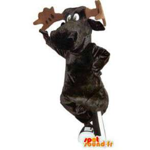 Vauhtia merkki maskotti puku kenkiä  - MASFR005263 - Stag ja Doe Mascots