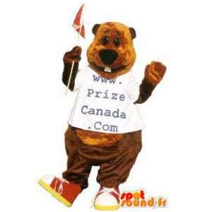 Bear mascot costume website Canada Prize - MASFR005272 - Bear mascot