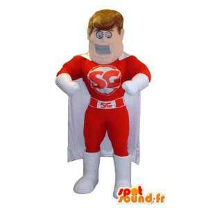 SG Brand Superhero Mascot Costume - Spotsound maskot