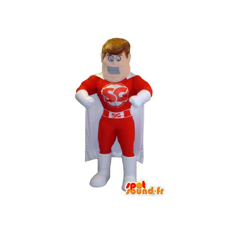 Mascot costume superhero brand SG - MASFR005286 - Superhero mascot