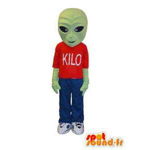 Alien alien character mascot costume adult - MASFR005291 - Missing animal mascots
