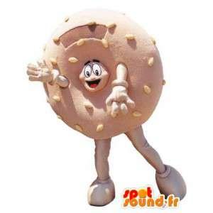 Mascotte kostuum volwassen donut