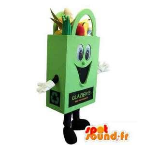 Maskottchen-Kostüm Gemüsekorb Marke Glaser - MASFR005302 - Maskottchen von Gemüse