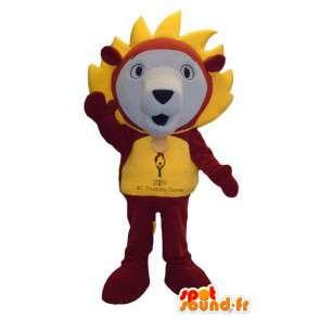 Lion character mascot costume fancy - MASFR005305 - Lion mascots