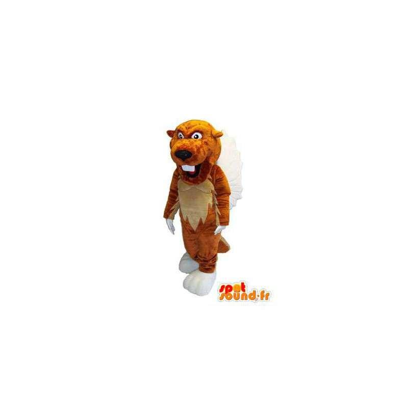 Mascotte de personnage tigre en peluche déguisement pour adulte - MASFR005309 - Mascottes Tigre