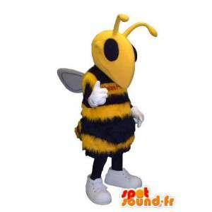 Bi eller hveps insekt maskot kostume - Spotsound maskot