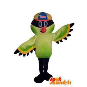 Kolorowy ptak postać superbohatera maskotka kostium dla dorosłych - MASFR005320 - ptaki Mascot