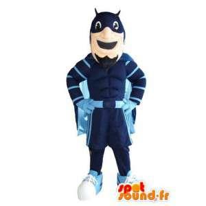 Batman maskot superhjälte karaktär förklädnad - Spotsound maskot