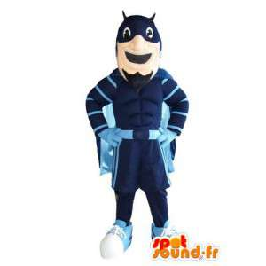 Mascot personaggio di Batman supereroe costume - MASFR005326 - Mascotte del supereroe
