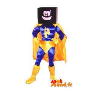 Adult mascot costume suit superhero TV - MASFR005336 - Superhero mascot