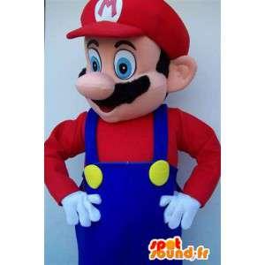 Merkki maskotti Mario Bros - puku aikuisille