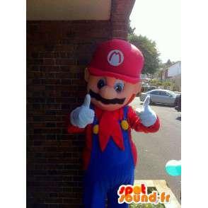 Mascotte de personnage Mario Bros déguisement pour adulte - MASFR005349 - Mascottes Mario