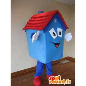 Adult kostyme huset maskot - MASFR005351 - Maskoter Hus