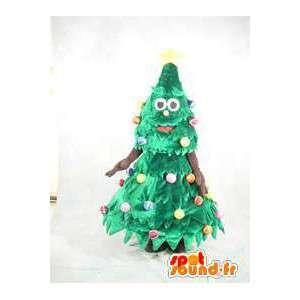 マスコットキャラクタークリスマスツリー変装コスチューム-MASFR005366-クリスマスマスコット