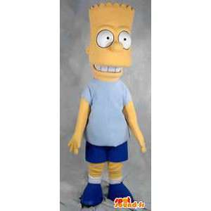 Maskottchen Charakter Bart Simpson berühmte Person